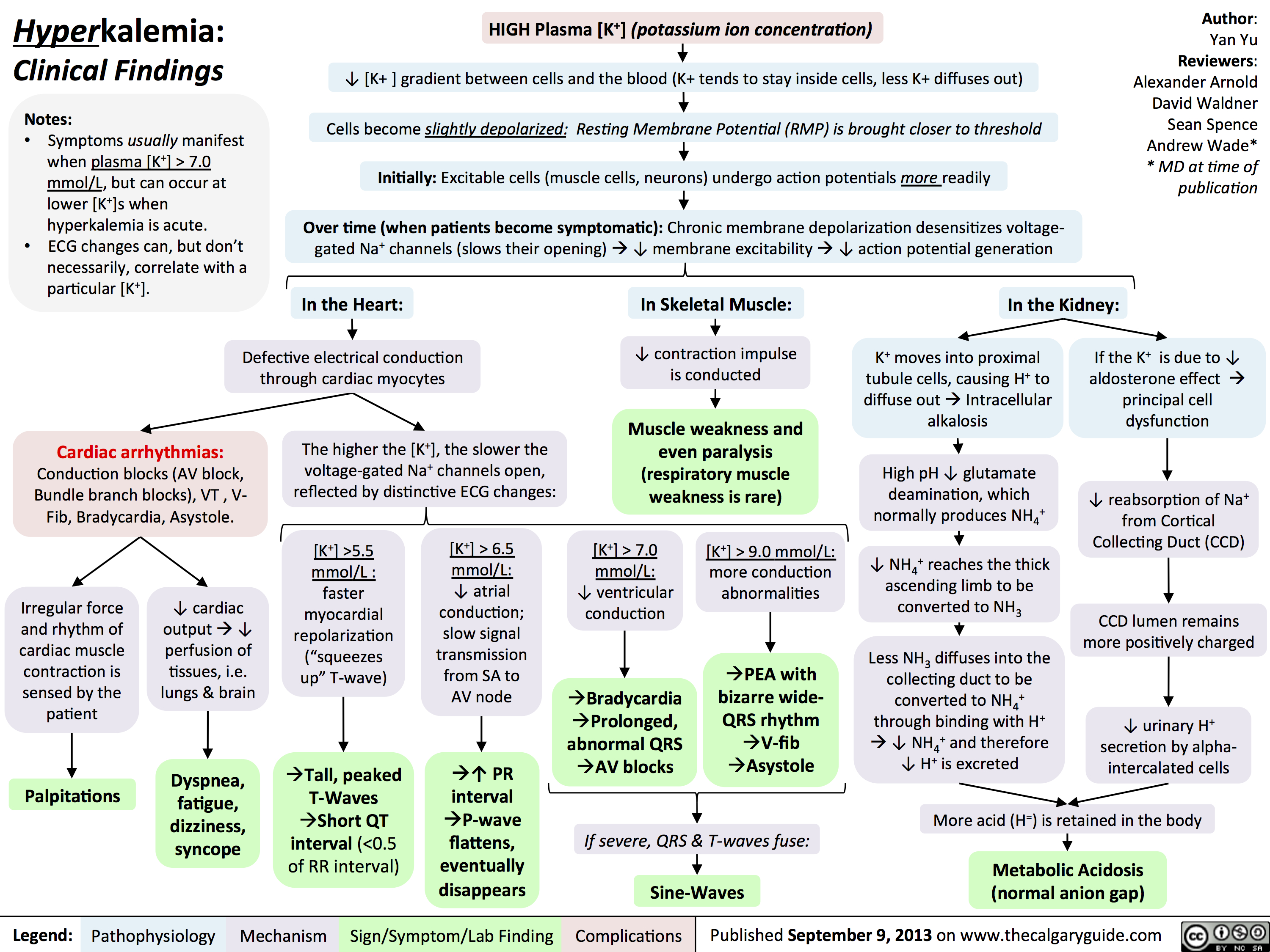 Hyperkalemia: Clinical Findings