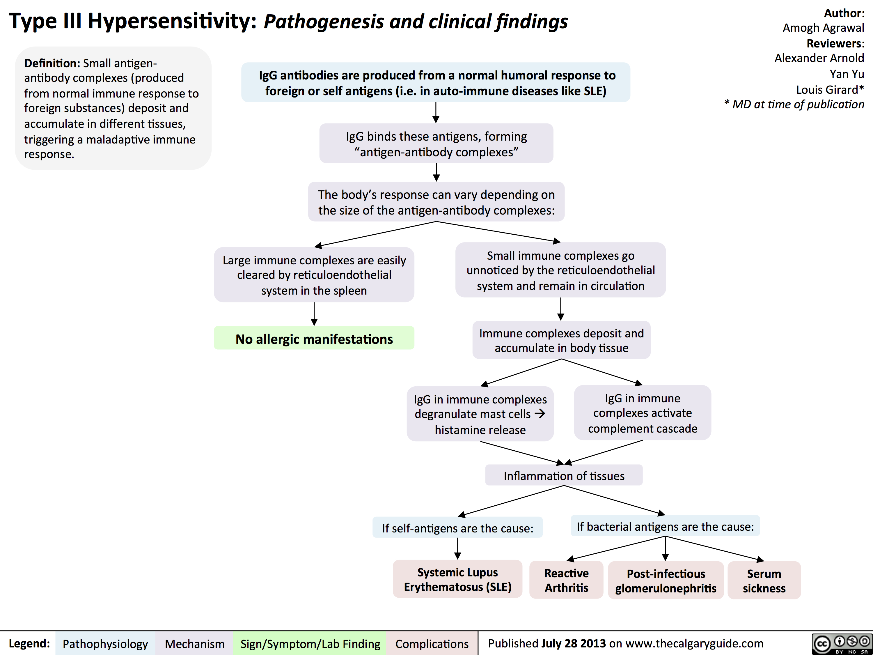 Type III Hypersensitivity: Pathogenesis and clinical findings
