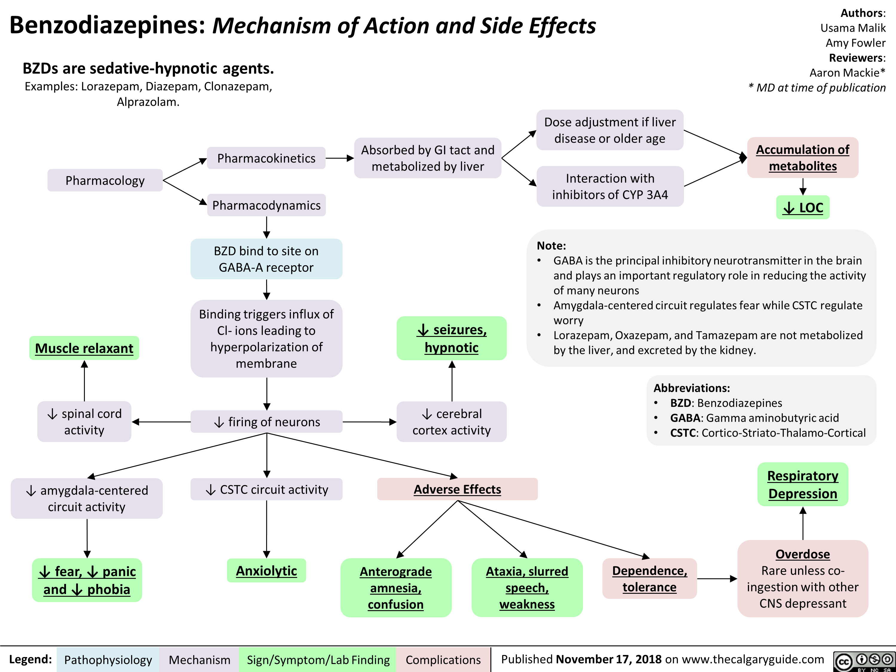 Benzodiazepines  Mechanism Of Action And Side Effects